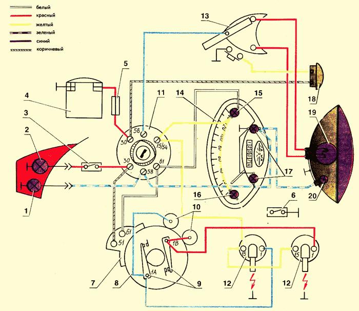 воздуха камаз схема