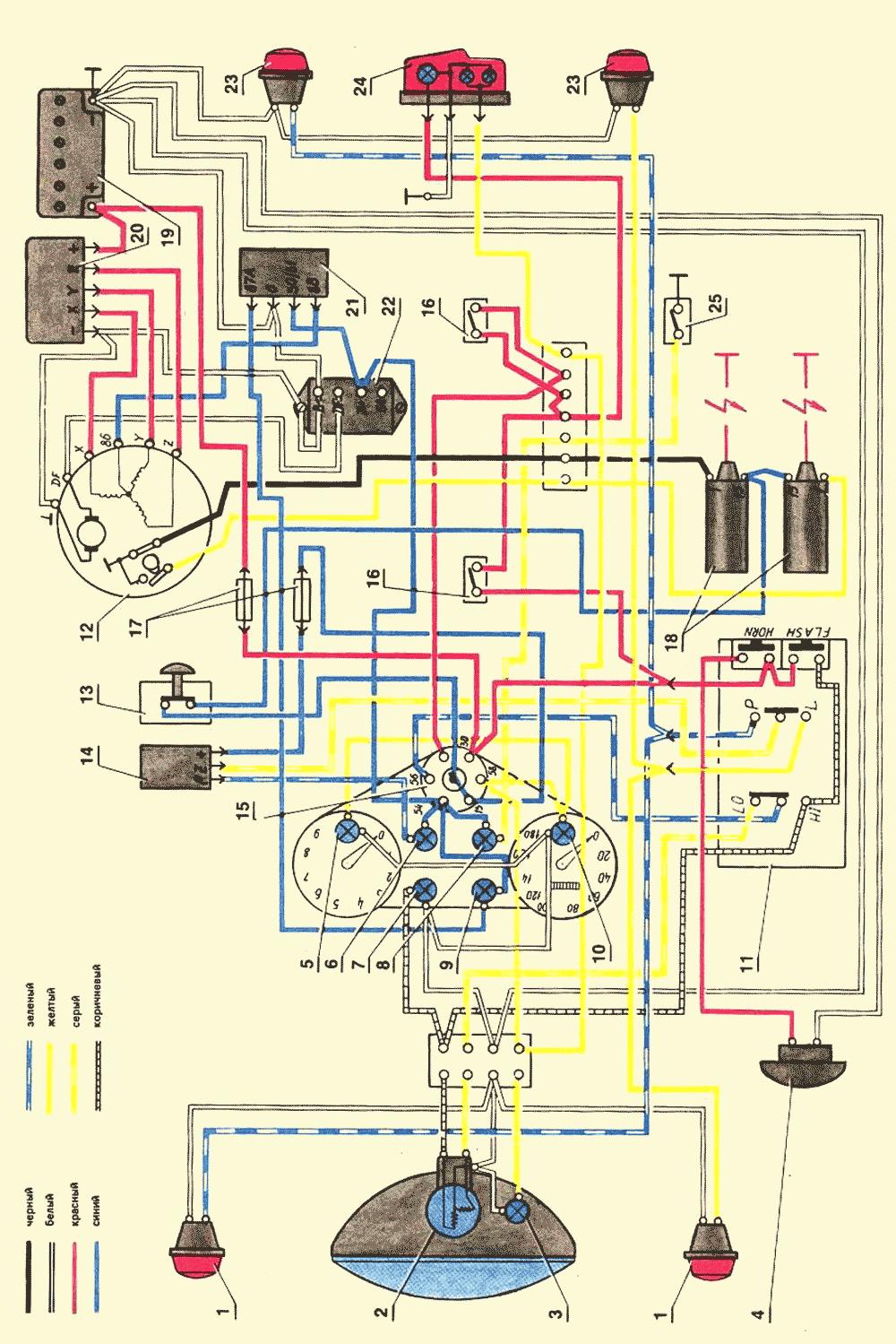 Обозначения на электрических схемахреле