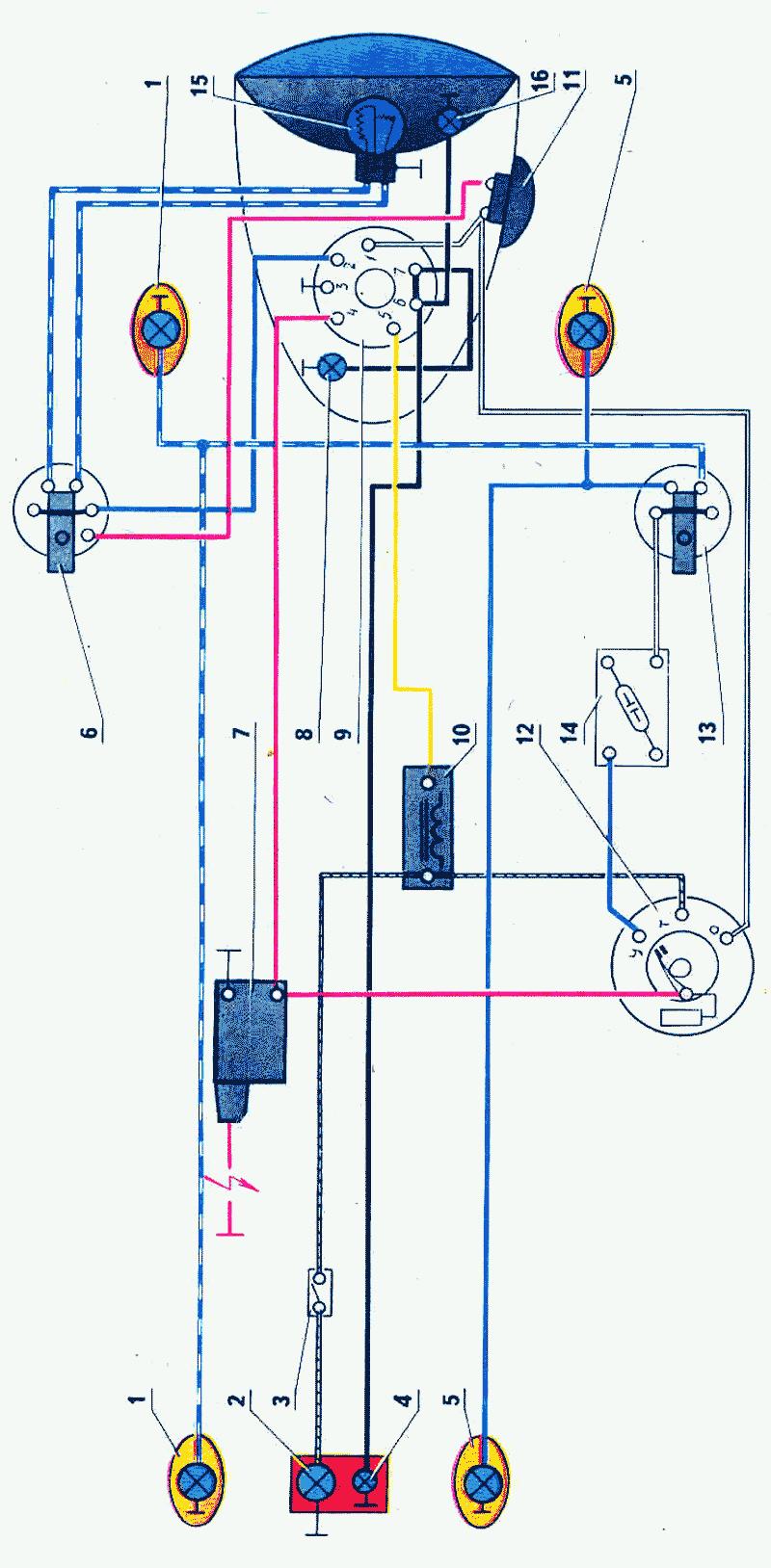 Мотоциклы минск схема